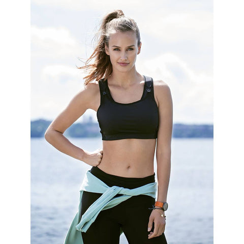 Underwear - Boob Fast Food Sports Bra - Black