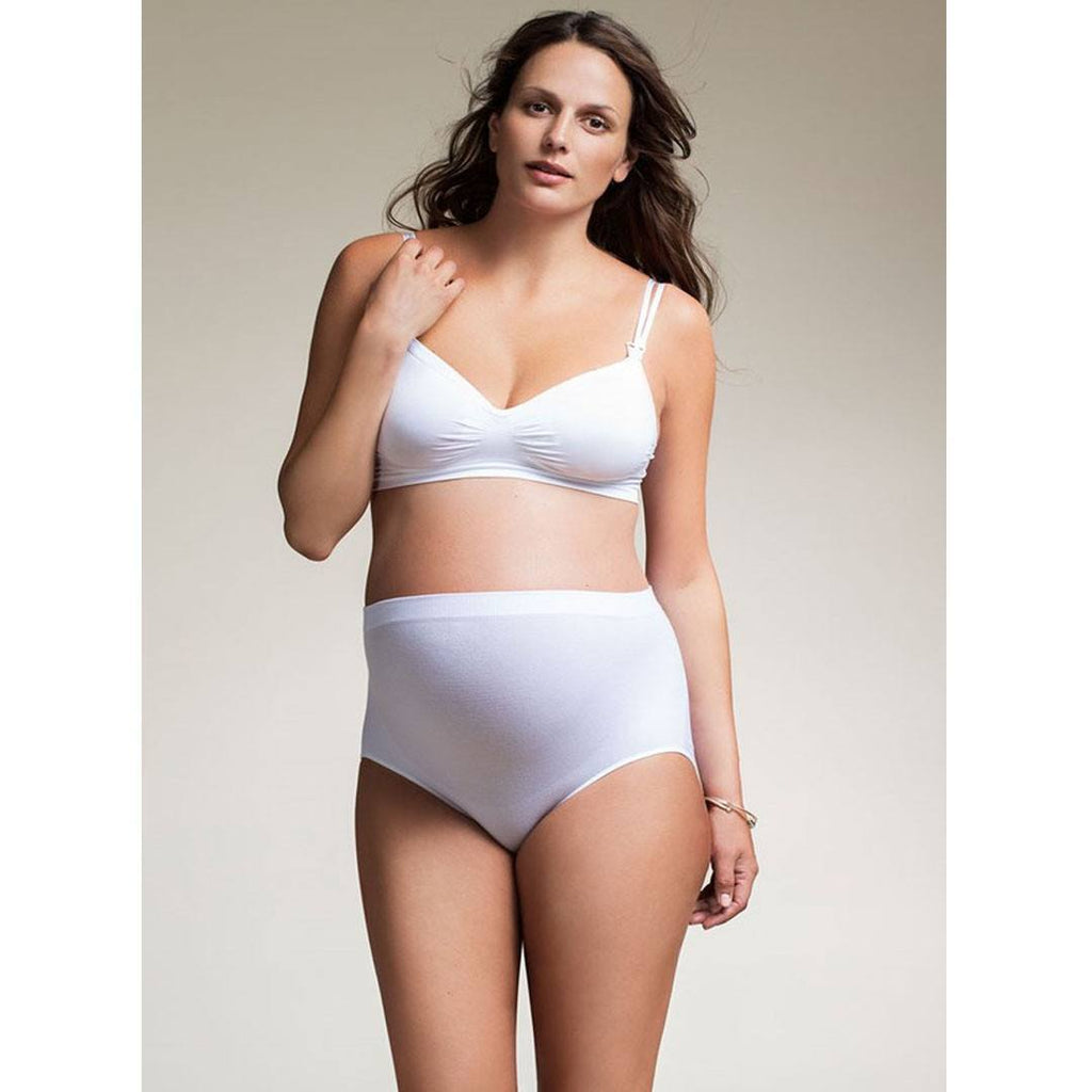 Underwear - Boob Hi-Cut Maternity Brief - White
