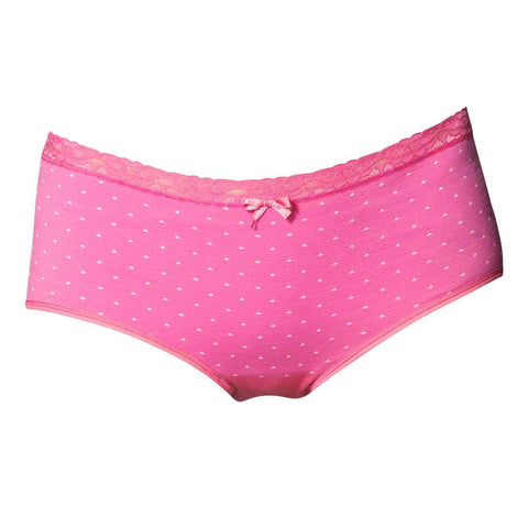 Underwear - Boob Seamless Maternity Brief - Pink Dot