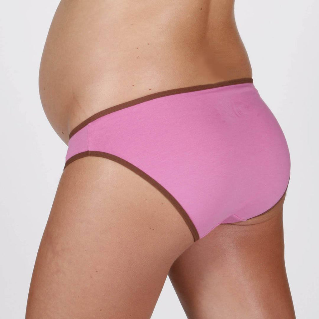Fertile Mind Perfect Fit Maternity Undies - Pink/Chocolate - 2 Pack - Underwear - Natural Baby Shower