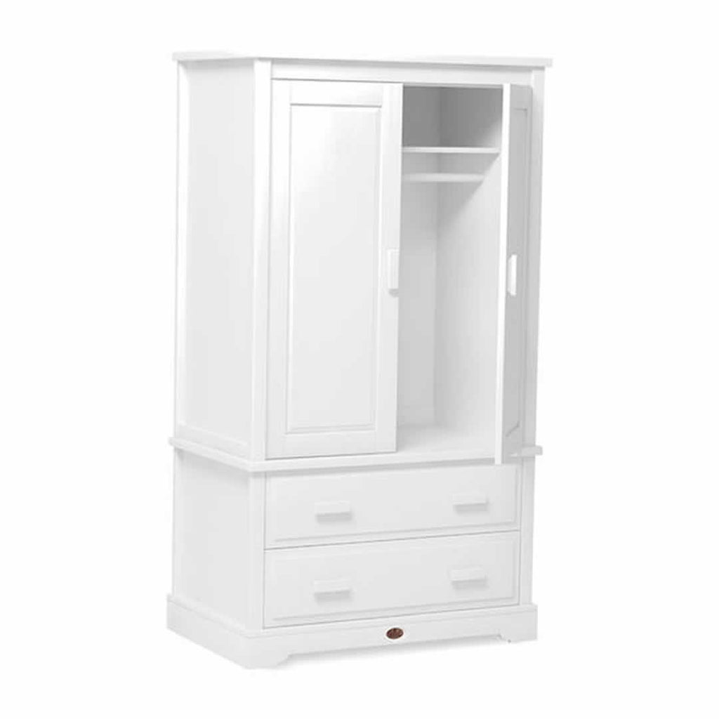 Boori Eton Expandable 3 Piece Nursery Set Wardrobe in White