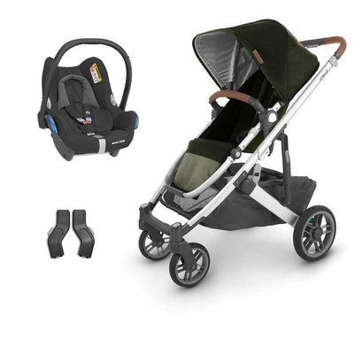 Uppababy Cruz CabrioFix Travel System - Hazel-Travel Systems-No Carrycot-No Base- Natural Baby Shower