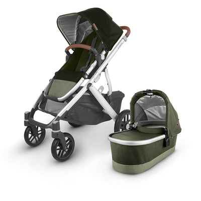 Uppababy Vista Pushchair + Carrycot V2 - 2020 - Hazel-Strollers- Natural Baby Shower