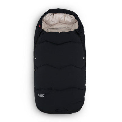 Voksi Explorer Footmuff - Black-Footmuffs-Black- Natural Baby Shower