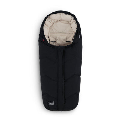 Voksi Move Footmuff - Black + Cream-Footmuffs-Black/Cream- Natural Baby Shower