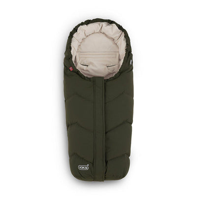 Voksi Move Footmuff - Pine + Cream-Footmuffs-Pine/Cream- Natural Baby Shower