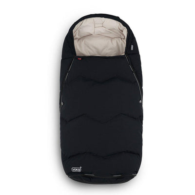 Voksi Urban Footmuff - Black + Cream-Footmuffs-Black/Cream- Natural Baby Shower