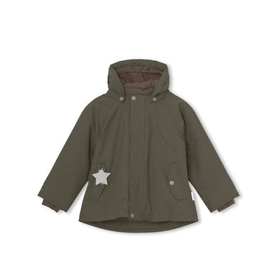 MINI A TURE Wally Jacket - Forest Night-Coats & Snowsuits- Natural Baby Shower