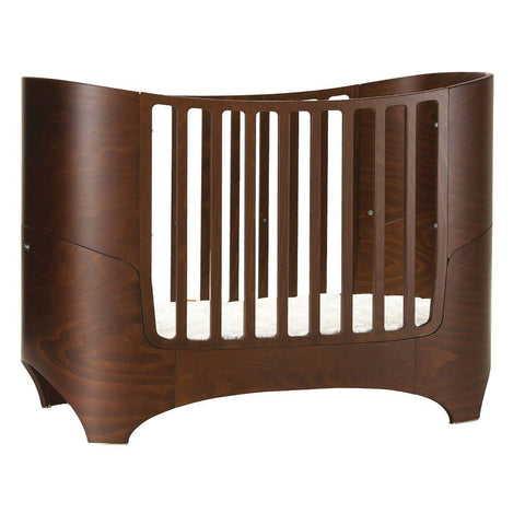 Leander Baby Cot Bed - Walnut - Cot Beds - Natural Baby Shower
