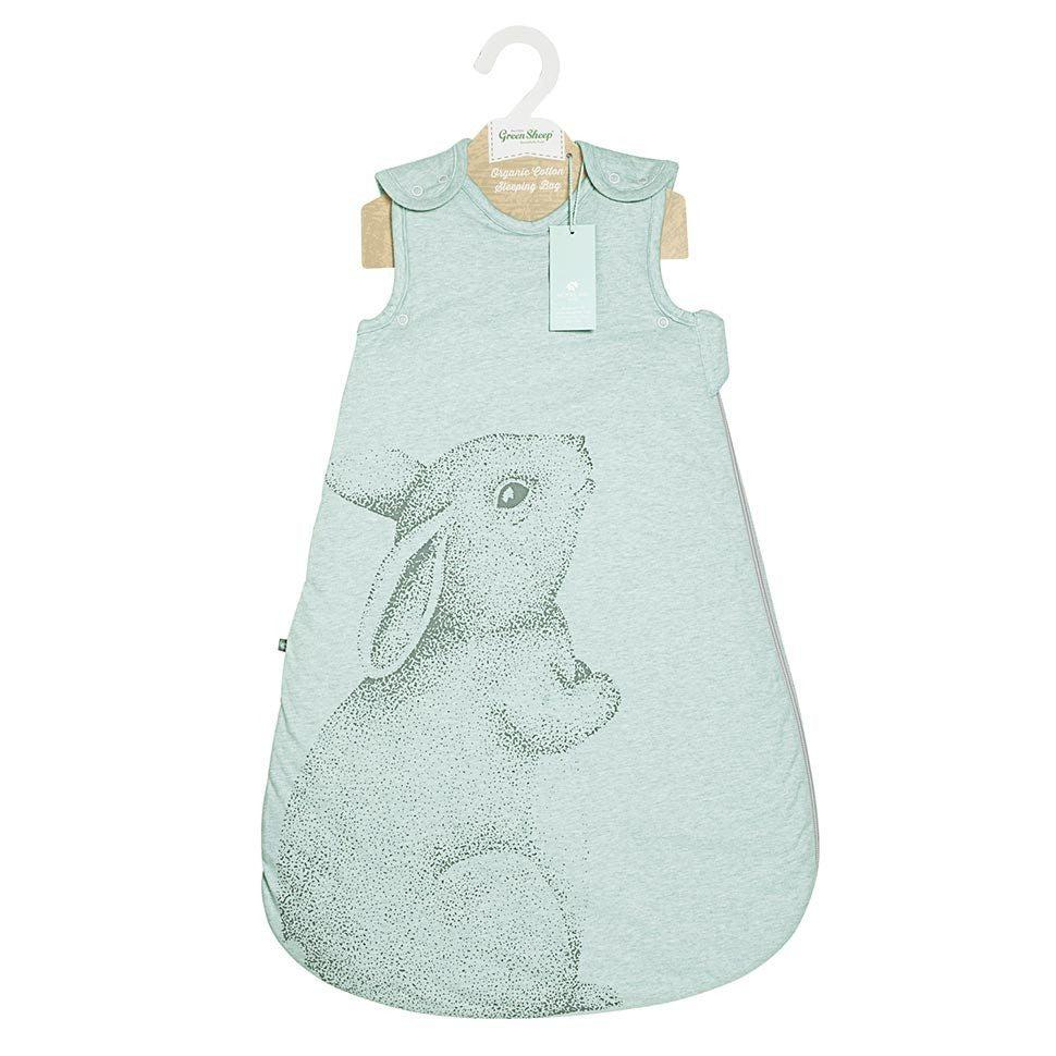 Wild Cotton Rabbit Print Sleeping Bag