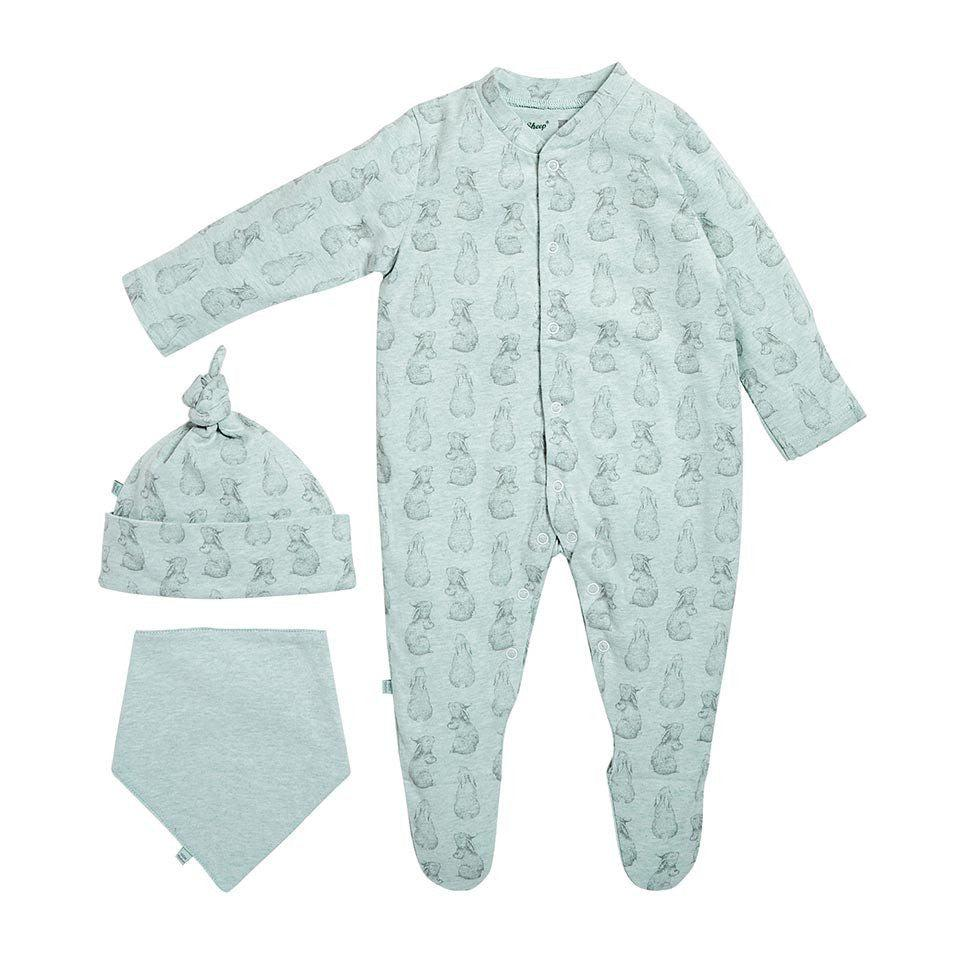 ec98eed12 Wild Cotton Organic Baby Gift Set - Rabbit-Gift Sets- Natural Baby Shower  ...
