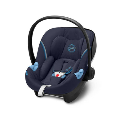 Cybex Aton M i-Size Car Seat - 2020 - Navy Blue-Car Seats- Natural Baby Shower
