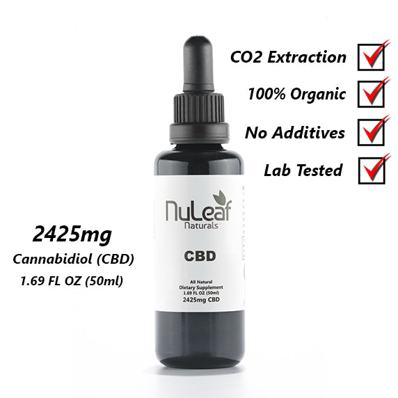 Buy CBD Hemp Oil 2425mg by NuLeaf Naturals