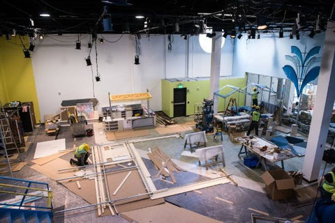 Minnesota Children's Museum under construction