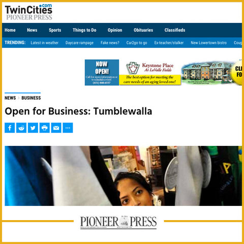 Open for Business: Tumblewalla, Twin Cities, MN