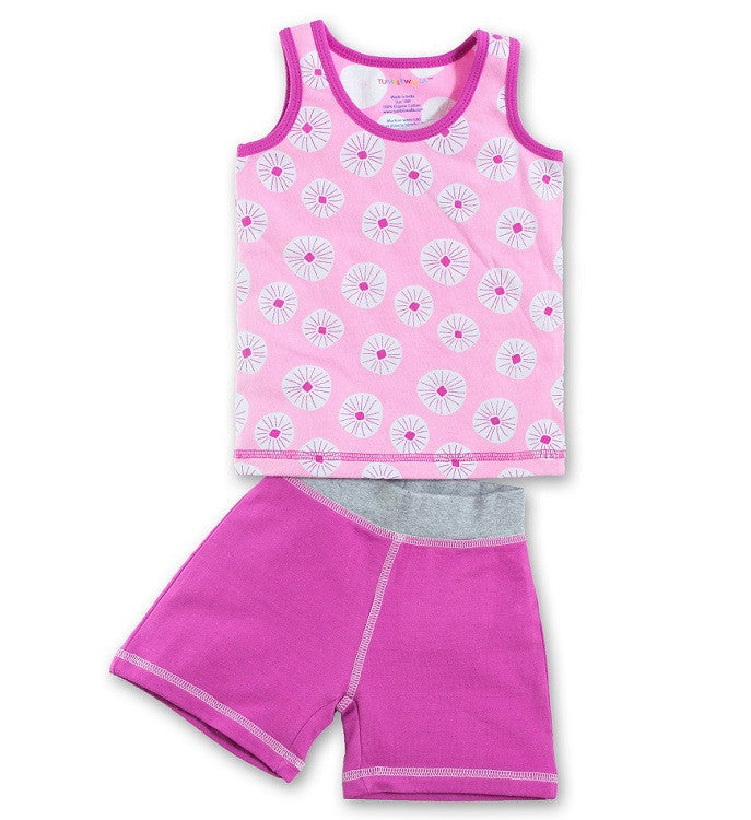 Organic Flower Burst Tank & Rose Short Playset