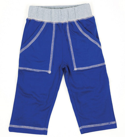 Navy Organic Play Pants