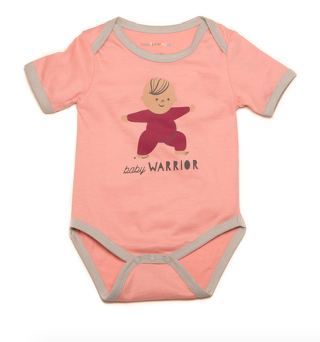 """Baby Warrior"" Organic One-Piece"