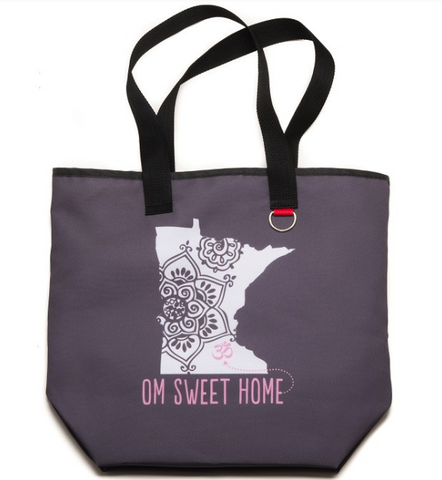 Om Sweet Home Minnesota Recycled Tote