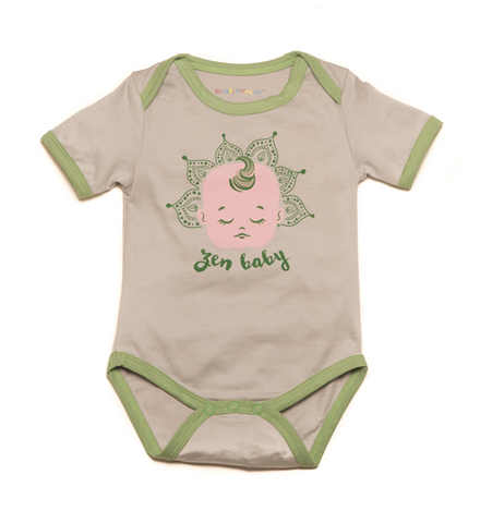 """Zen Baby"" Organic One-Piece"
