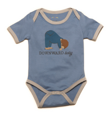 """Downward Baby"" Organic One-Piece"