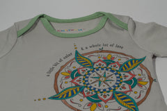 True North Mandala Organic One-Piece: Color Your Own Adventure