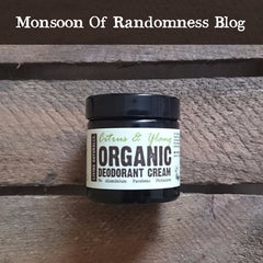 organic vegan deodorant made with softening soapnuts