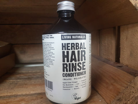 Organic Herbal Hair Rinse Conditioner 200ml / 500ml