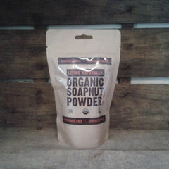 vegan organic biodegradable soapnut laundry powder