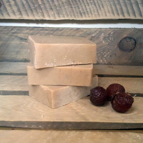 Hemp & Patchouli Soapnut Shampoo Bar 90g