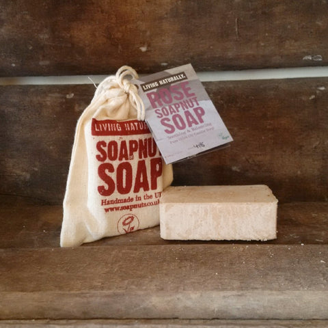 rose castile olive oil vegan organic soap nut soap sls free palm oil free zero waste