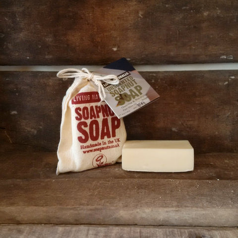 vegan unscented organic soap nut olive oil castile soap palm oil free zero waste
