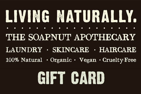 living naturally soapnut products gift card