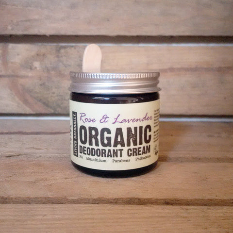 organic vegan aluminium free deodorant made with organic soap nuts