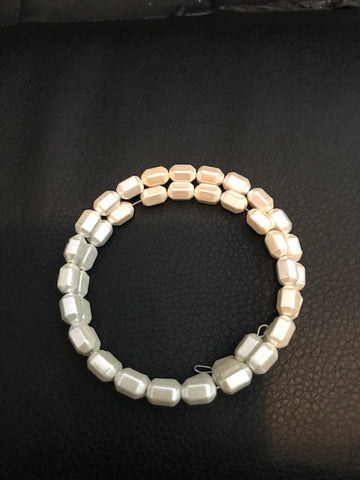 Clearance Faux Pearl Magnetic Bracelet