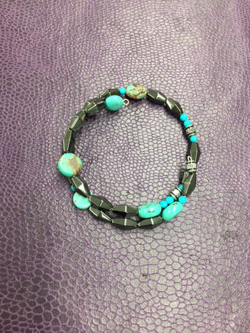 Magnetic Turquoise Bracelet