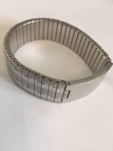 Classy Stainless Steel Expansion Bracelet - Large