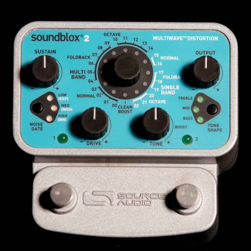The Soundblox 2 Multiwave Distortion