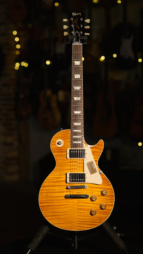 Gibson Custom True Historic 1959 Les Paul Reissue Vintage Lemon Burst