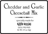 Cheddar and Garlic Cheeseball Mix