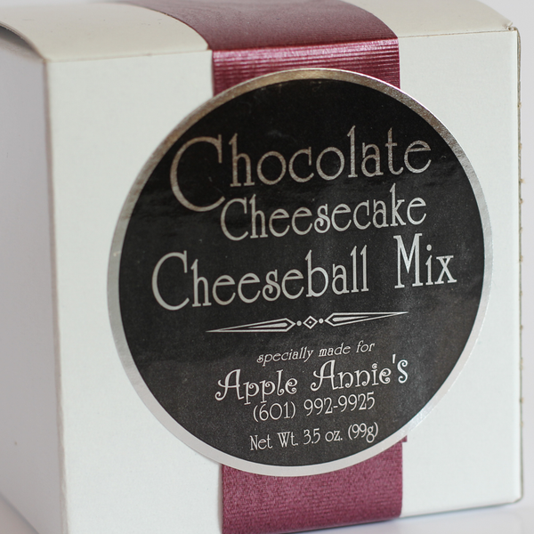 Chocolate Cheesecake Cheeseball Mix