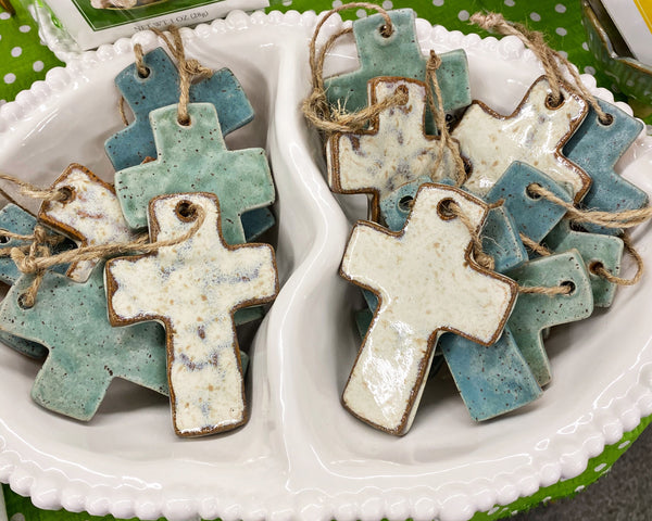 Kristy's Pottery Cross
