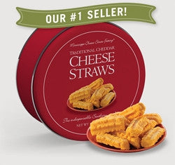 Cheese Straw (tin) 16 oz.