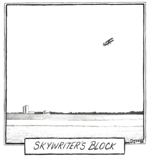 Skywriter's Block