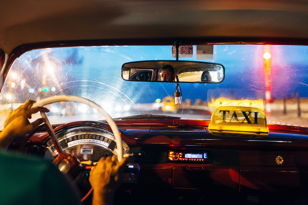 Taxi in Havana, Limited Print
