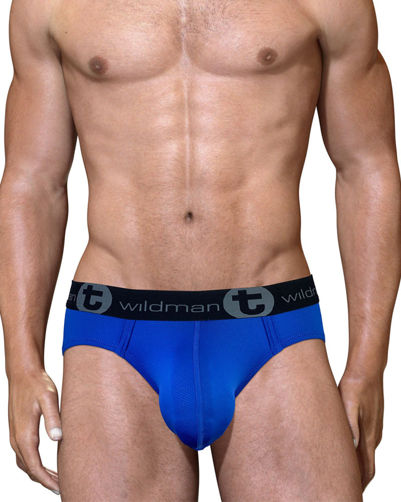 WildmanT Big Boy Pouch Mesh Brief
