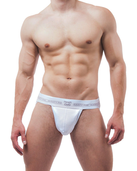 UnderBriefs | Underwear for Men | Nasty Pig Core Jock White