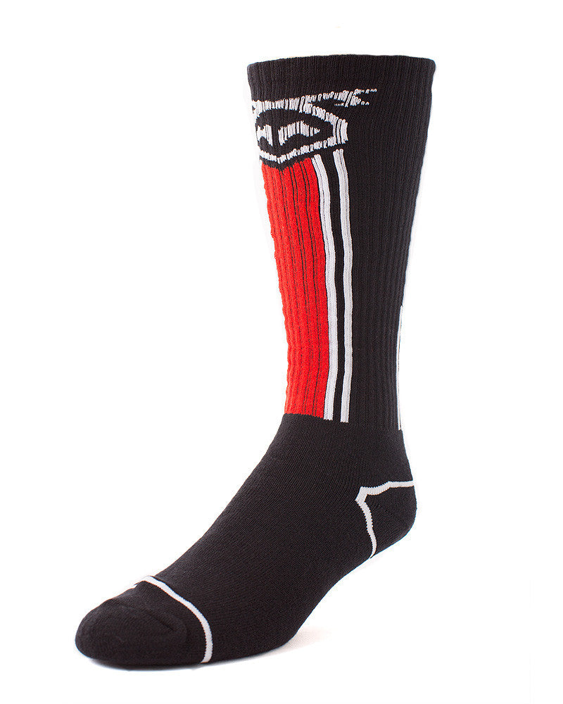 UnderBriefs | Underwear for Men | Nasty Pig Title Socks Red