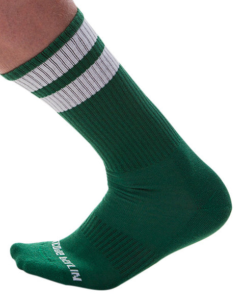 UnderBriefs | Underwear for Men | Barcode Berlin Gym Socks Green