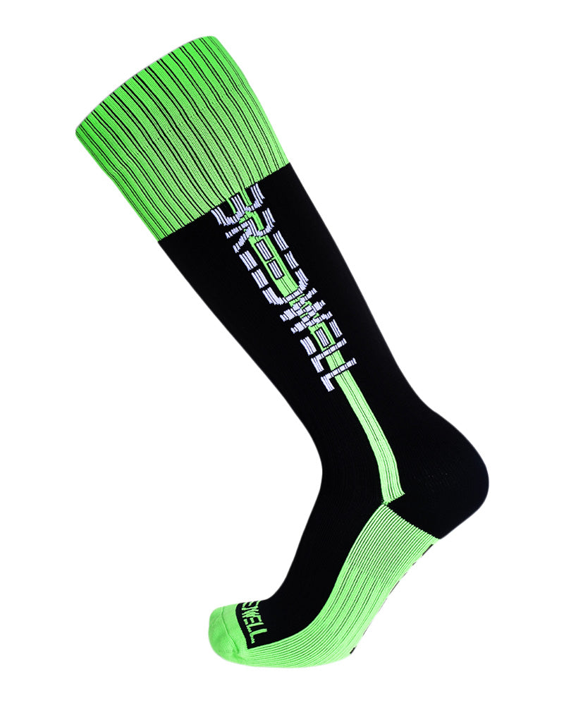 Breedwell Nightcrawler Socks-Socks-Breedwell-Neon Green-Men-Underwear-UnderBriefs